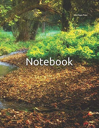 Notebook: Peaceful Creek