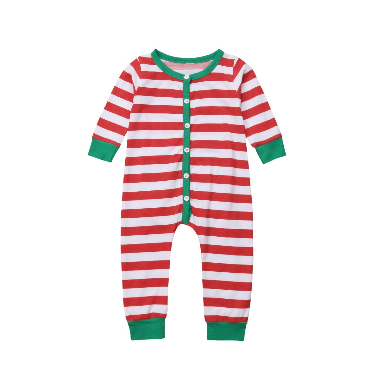 b10dc9b3a Amazon.com  Toddler Baby Girls Boys Christmas Romper Jumpsuit ...