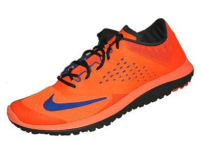 e93ccc41 NIKE - FS Lite Run 2 Men's Running Shoes (Orange/Blue) - EU 47 - US ...