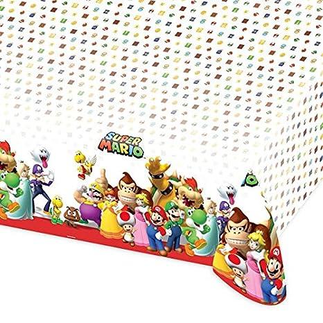 Set de decoración de cumpleaños de Super Mario, 54 piezas ...