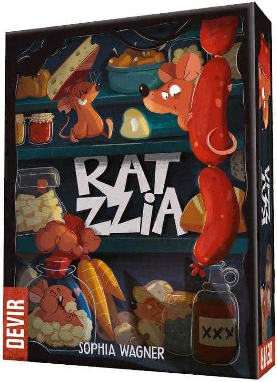 Devir- Ratzzia, el Juego de Mesa, Multicolor (1): Amazon.es: Juguetes y juegos