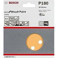 Disco de Lixa Bosch C470 Best for Wood&Paint; 125mm G180