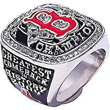 GF-sports store Boston 2004 Red Sox Championship Replica Ring Gift Fashion Gorgeous Collectible Jewelry