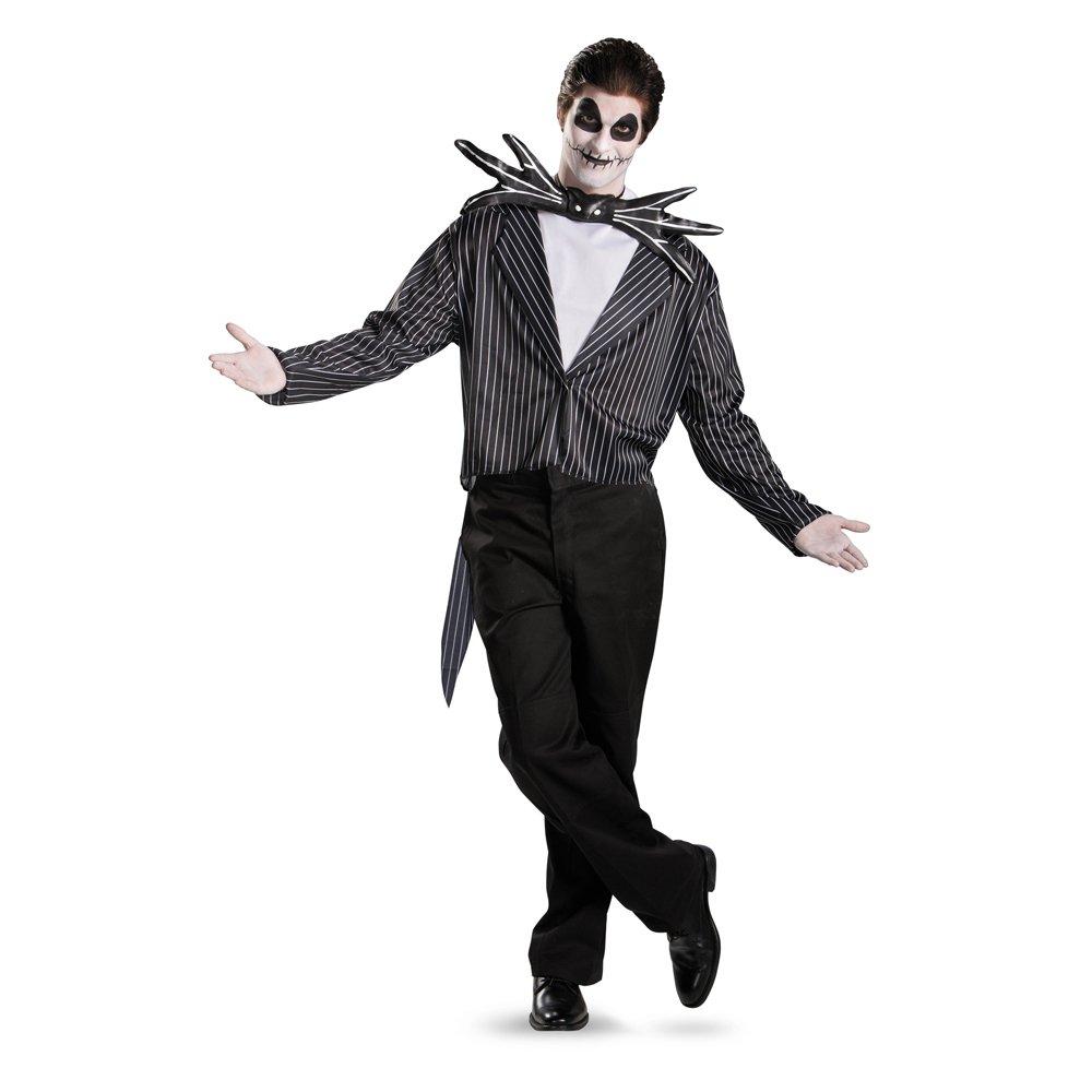 Jack Skellington Costume Adult Nightmare Before Christmas Costume Disguise 5686