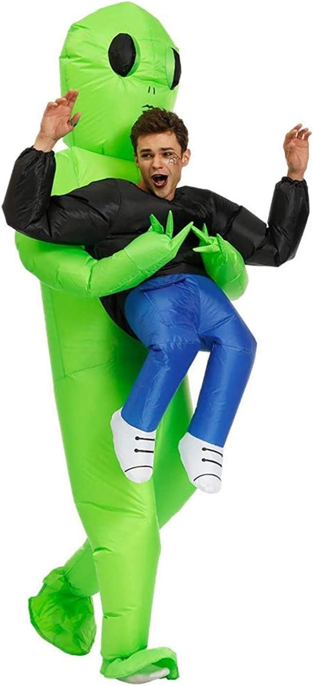 D/éguisement Gonflable Alien Taille Adulte Qualit/é Premium R/ésistant Cr/é/é par OriginalCup /® Polyester Costume Gonflable Insolite Syst/ème de Gonflage Inclus Agr/éable /à Porter