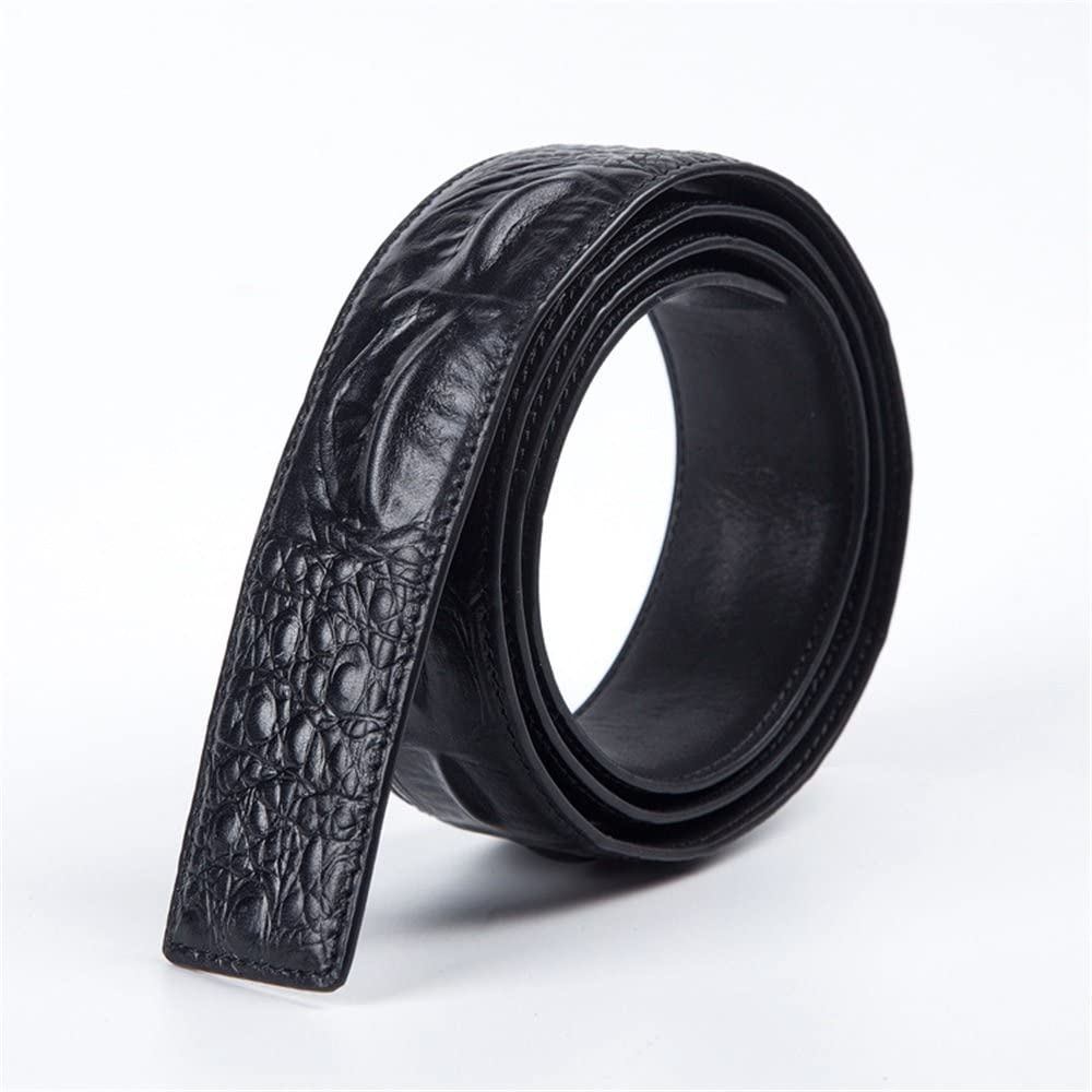 Size : M Crystalzhong-MW Mens Leather Strap Waistband Men Belt Top Layer Leather Belt Body Cowhide Smooth Buckle Dermis Strip Formal Belt