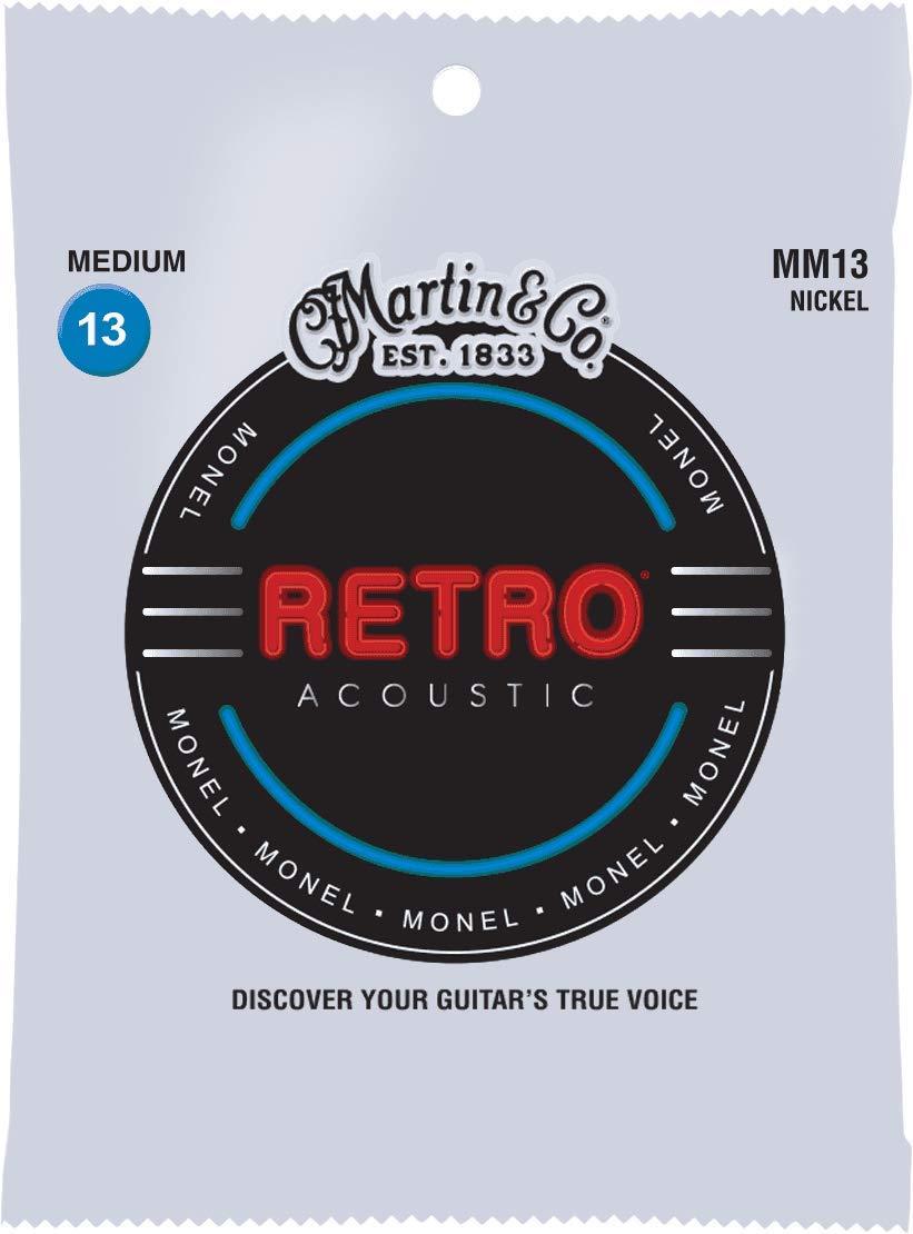 Martin Cuerdas Retro Monel Medium