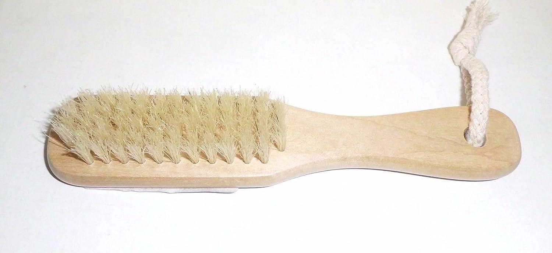 cepillo multiusos con mango de madera lucidascarpe brillante Limpiador Zapatillas: Amazon.es: Jardín