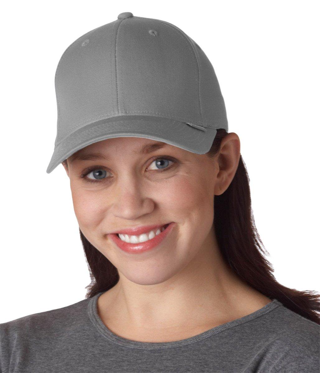 Flexfit V-Flex Twill Cap 5001,Cool Grey,S/M