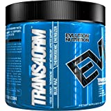 Evlution Nutrition Trans4orm Thermogenic Energizing Fat Burner Supplement, Increase Weight Loss, Energy and Intense Focus (30 Serving Blue Raz Powder)