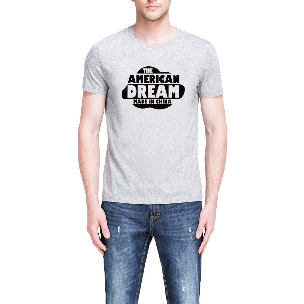 Loo Show Sthe American Dream Made In China Casual T Shirts Tee