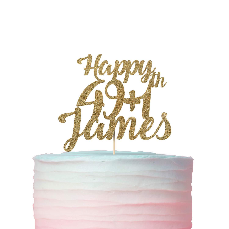 Prime Amazon Com Funny 50Th Birthday Cake Topper 49 Plus 1 Available Funny Birthday Cards Online Necthendildamsfinfo