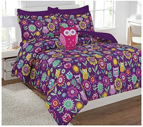 Fancy Collection Flowers Comforter Included