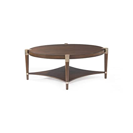 Amazon Com Bassett Mirror Company Cole Oval Cocktail Table Kitchen