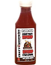 Crazy Mooskies Gourmet Tomato Ketchup, Original, 0.375 L