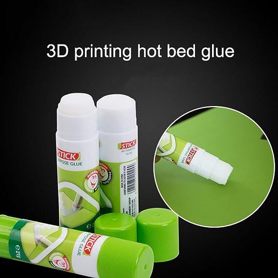 Vbestlife Pegamento en Barr,Pegamento Lavable Anti-Inclinable no T/óxico para la Impresora 3D Hotbed