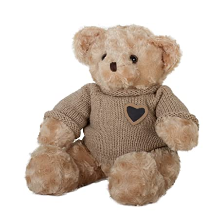 Perfect Memorials Large Teddy Bear Cremation Urn Tan