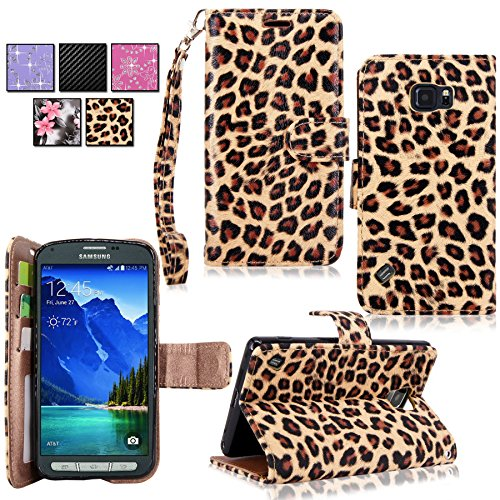 Galaxy Active Case Cellularvilla Brown Leopard