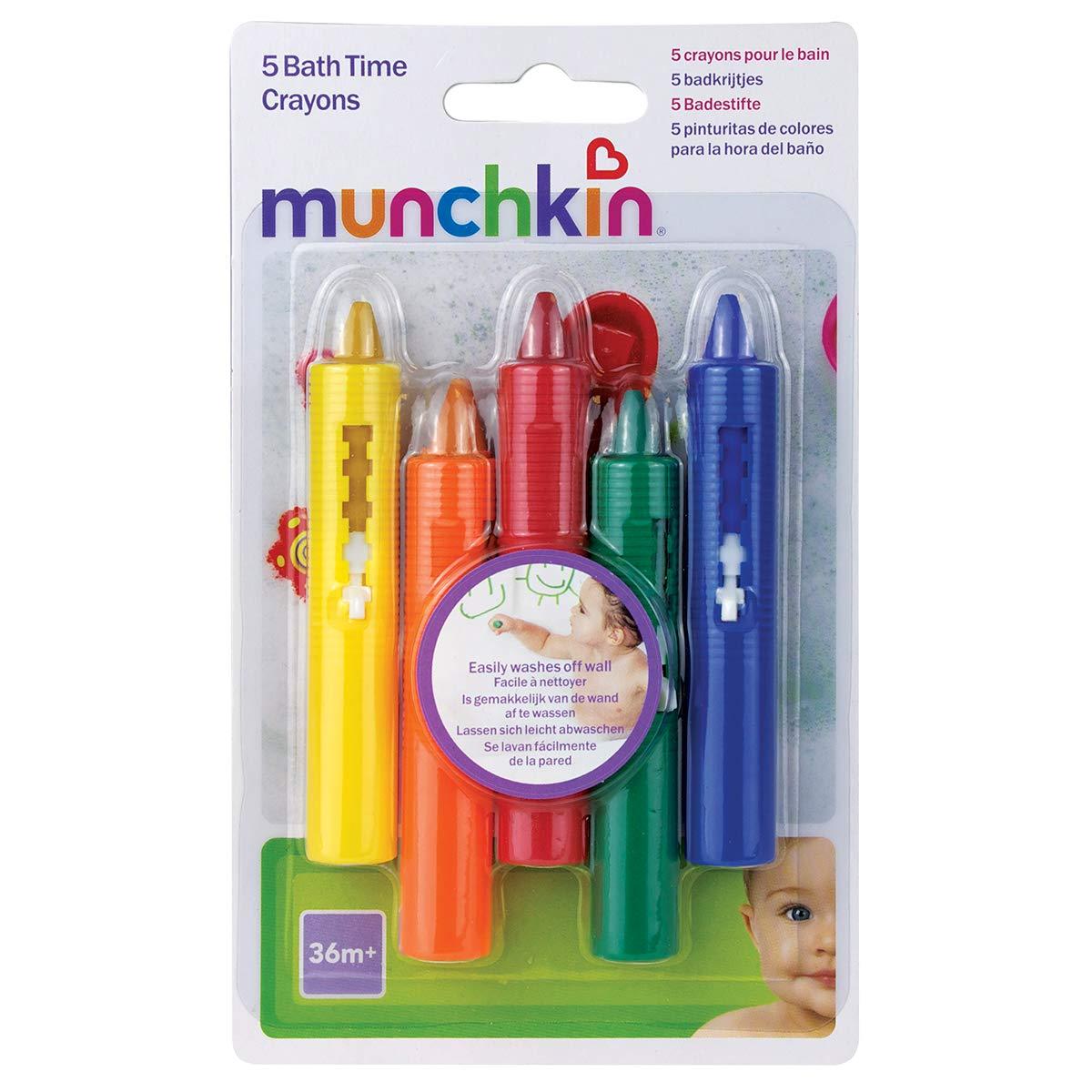 Munchkin 5 Crayons pour le Bain