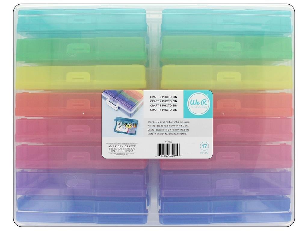 We R Memory Keepers 38, 1 x 30, 5 x 12, 7 cm mini pattumiera 1x 30 5x 12 7cm mini pattumiera American Crafts 660269