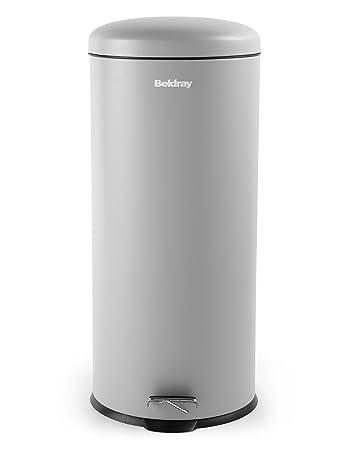 Exceptionnel Beldray 30 Liter Grau Küche Mülleimer Mit Softclose Deckel