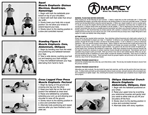 Marcy 50 lb. Kettle Weight Set