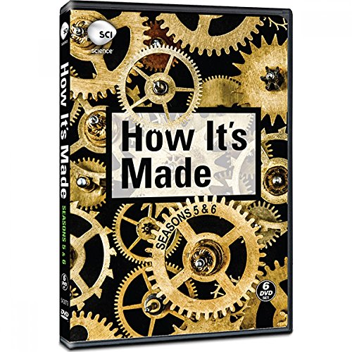 How It's Made Seasons 5 & 6 (6 DVDs set)