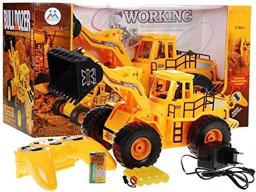 Grande RC Bulldozer Bulldozer (8895B) telecomandato bulldozer giallo