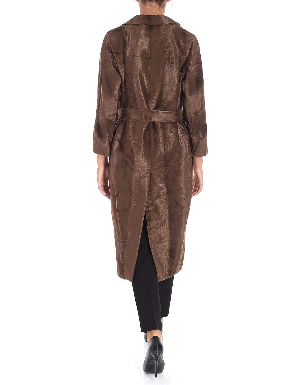 S MAX MARA Mujer 90160789000001 Beige Poliéster Trench Coat: Amazon.es: Ropa y accesorios