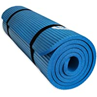 YUREN - Alfombrilla de yoga antideslizante para mujer, extralarga de 72 x 24 pulgadas, para yoga, pilates, 15 mm de…