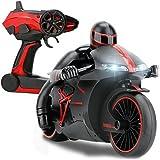 PowerLead Rc Aoto Moto 2,4ghz di velocità, con fari led dell'automobile elettrico, corri veloce e sbanda, telecomando della moto con giroscopio.