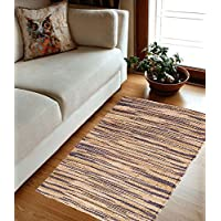 Jute Rug for Kitchen/Entry-Way/Bedroom 2x3 Feet - Hand woven