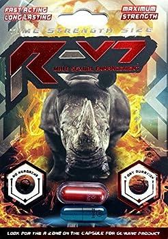 RHINO RV7 - Fast Acting 7 DAYS Male Sexual Performance Enhancement Pill 1 PILLS