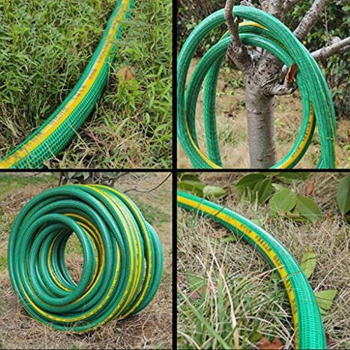 GXYAWPJ PVC Flexible Anti-freeze Sunscreen Garden Watering Flowers Car Wash Hose Explosion-proof Pvc Household Water Pipe (diameter 19×23mm) (Size : 10m)