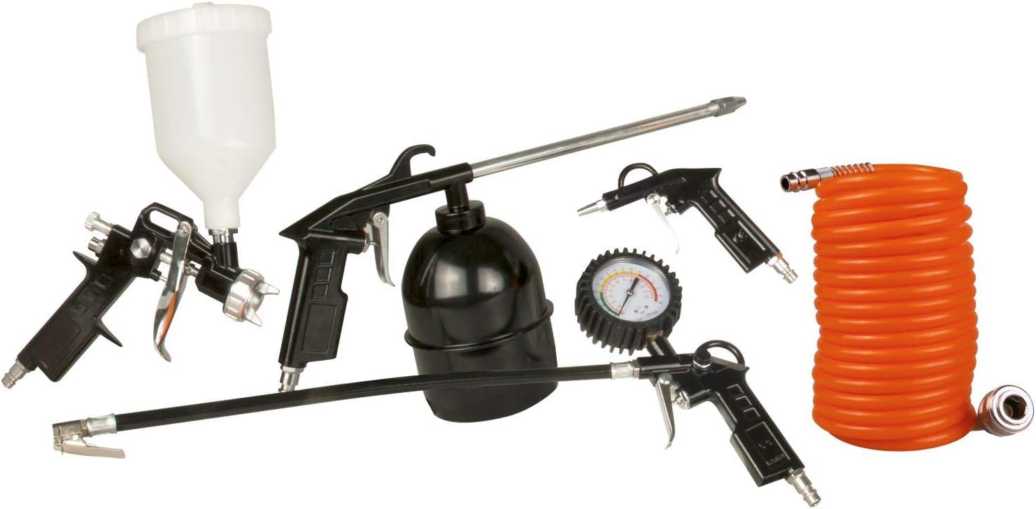Juego de 5 herramientas de aire comprimido