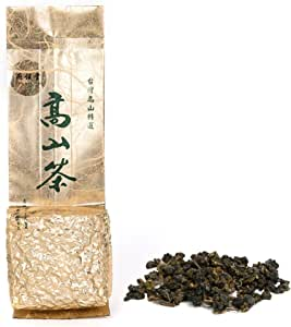 Yan Hou Tang Organic Taiwan Dong Ding Tung Ting Oolong Tea Loose Leaf Herbal Breakfast 150g - Half Cooked 35% Fermented Bake Aroma Flavor Taste Formosa High Mountain Roasted Wulong Summer Detox