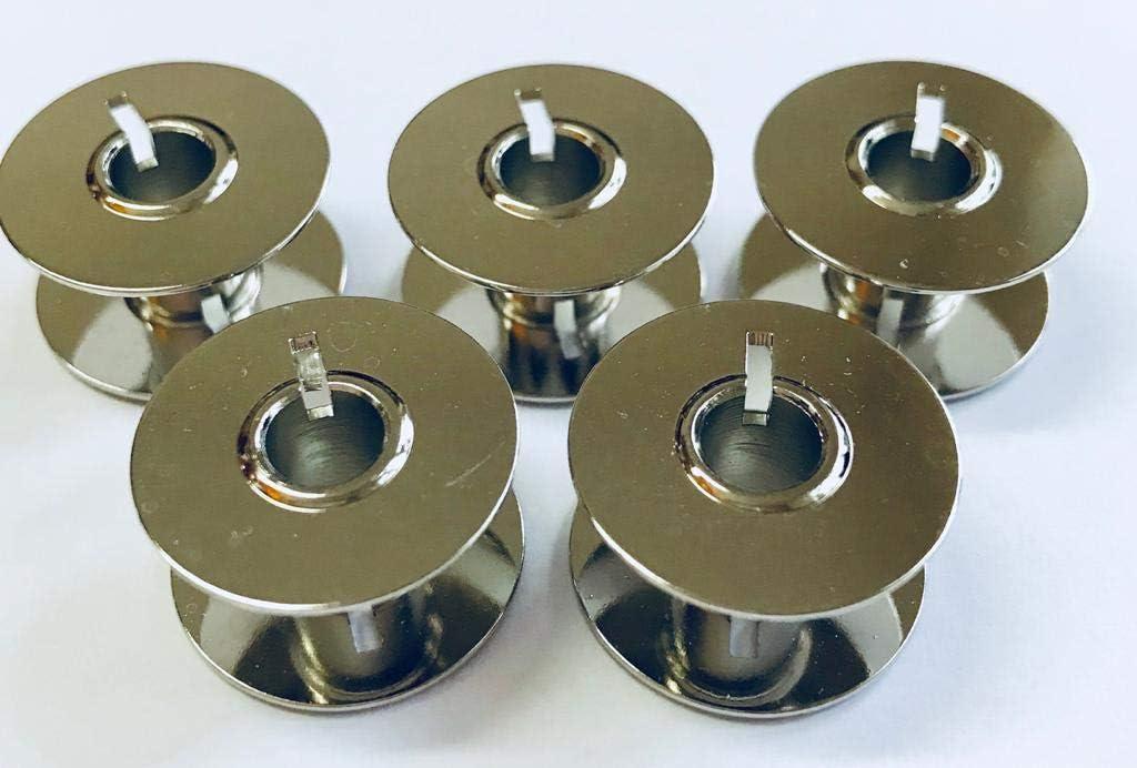 Nähmaschinenzubehör24 5 bobinas de Metal CB para máquinas de Coser Privileg, Victoria y Amysa.: Amazon.es: Hogar