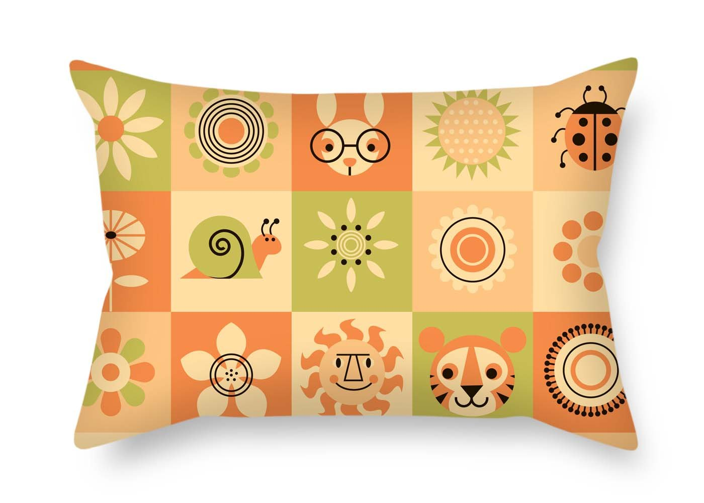 Amazon.com: Eyeselect - Funda de almohada con bloque de ...