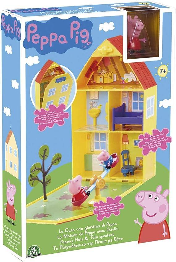 Peppa Pig PPC11 casa de muñecas - Casas de muñecas (Caja, Juego de Muebles, Figura de Juguete, 2 Pieza(s), 01/08/18): Amazon.es: Juguetes y juegos