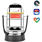 Rainbrace 旋转摆放 平衡球 增加步数 可赚钱 永久运动 手机自动摆放 智能手机支架 USB供电 摆动玩具 智能手机 口袋妖怪(Pokemon GO)或walkr,Google Fit@