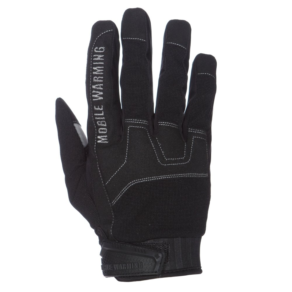 Mobile Warming Unisex-Adult Workmen's Heated 7.4v Gloves Set Black Small