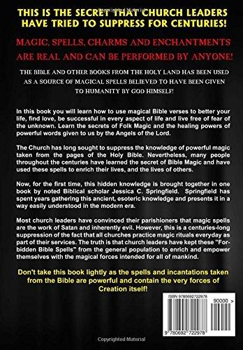 Amazon.com: Forbidden Magic Spells From The Bible: Ancient Spells ...