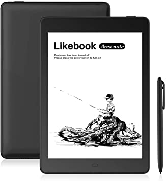 "Likebook Ares-Note E-Reader, 7.8"" Eink Carta Screen, Dual Touch ..."