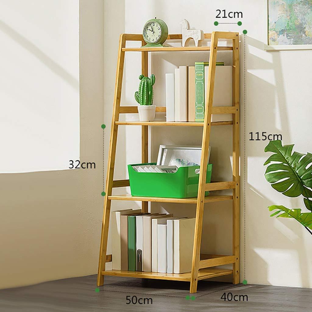 YCT 壁の装飾シンプルな本棚木製収納ラック多層フロア子供の本棚 (サイズ : H4-L50CM) B07RTBTR8Z  H4-L50CM