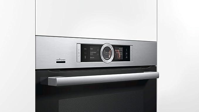 Bosch Serie 8 HRG636XS7 - Horno (Medio, Horno eléctrico, 71 L, 71 ...