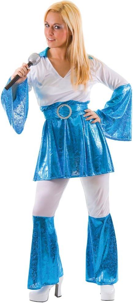 Mamma Mia 1970s Ladies Fancy Dress Small (disfraz): Amazon.es ...