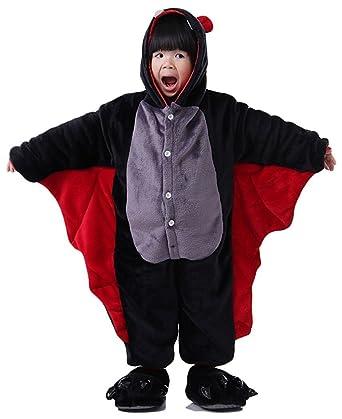 90c22a4271d01 Kenmont Enfant Unisexe Animal Costume Cosplay Combinaison Licorne Pyjama  Nuit Vêtements Soirée de Déguisement (Taille85