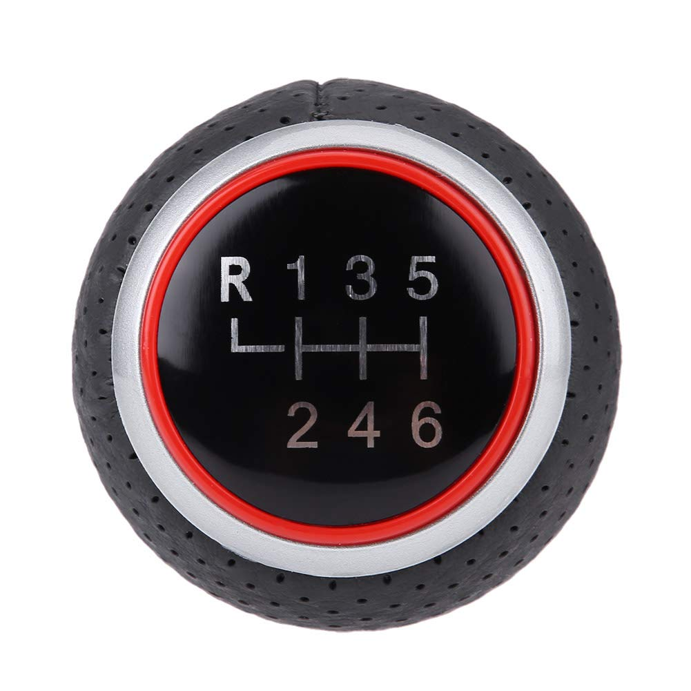 A KIMISS Car Manual 6 Speed Gear Shift Knob Head