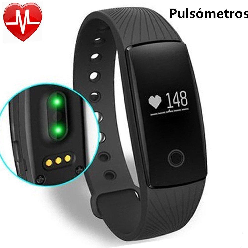 Pulsera de actividad con pulsómetro