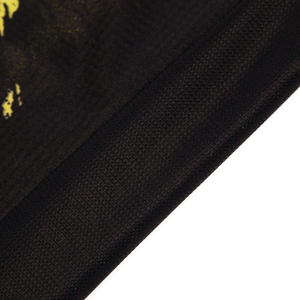 Weimostar Summer Mens Cycling Jersey Top Short Sleeve Quick Dry Black Skull